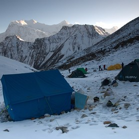 Chulu East Base Camp